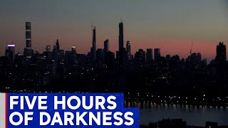 Highlights: Power outage plunges Manhattan into darkness