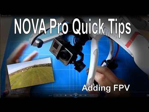 Quanum Nova Pro Quick Tips - Adding FPV camera and transmitter - UCp1vASX-fg959vRc1xowqpw
