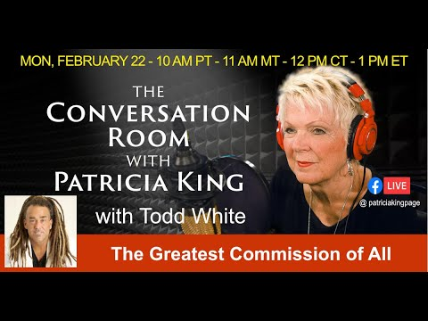 The Conversation Room // Todd White // Patricia King