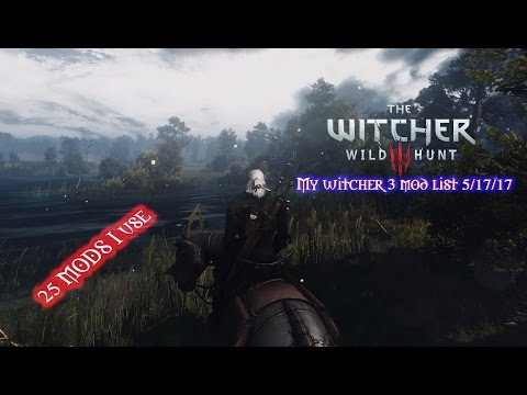 My Witcher 3 modlist (25 Mods to have for the PC) - VidVui