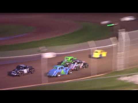 8/28/21 Legend Feature Beaver Dam Raceway - dirt track racing video image