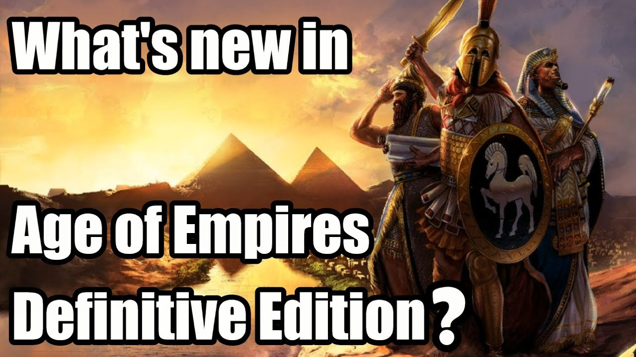 What's new in Age of Empires Definitive Edition? | AudioMania lt
