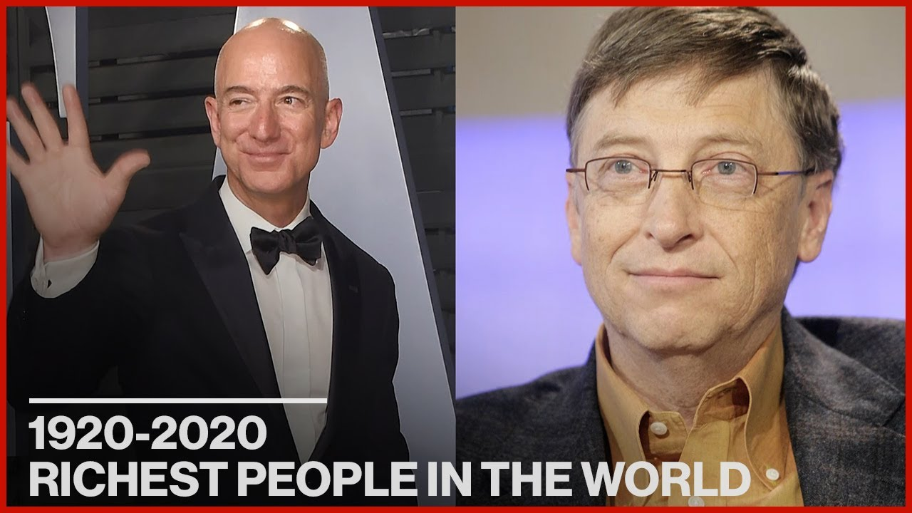 The Richest People in Every Decade | History By the Decade