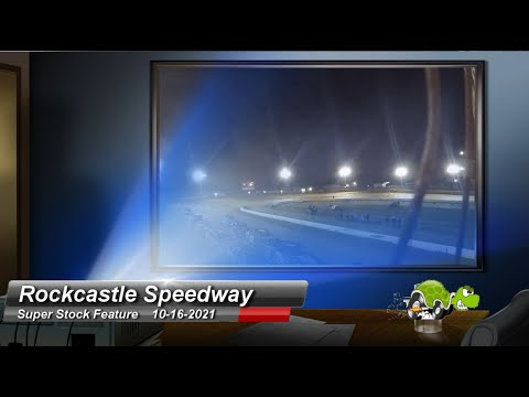 Rockcastle Speedway - Super Stock Feature - 10/16/2021 - dirt track racing video image