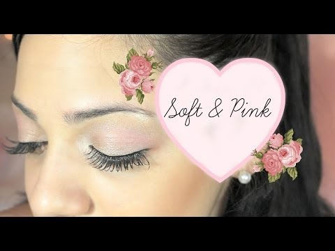 Soft & Pink Makeup Look Tutorial - UCuVHOs0H5hvAHGr8O4yIBNQ