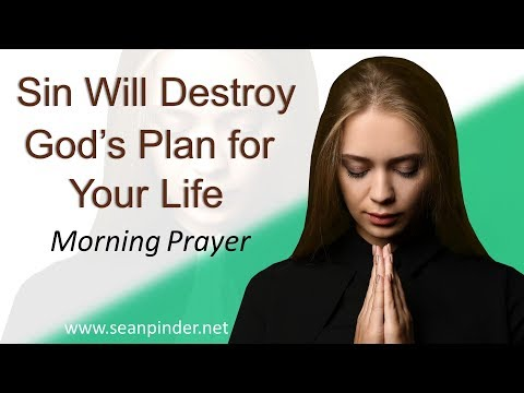 JOSHUA 7 - SIN WILL DESTROY GOD'S PLAN FOR YOUR LIFE - MORNING PRAYER (video)