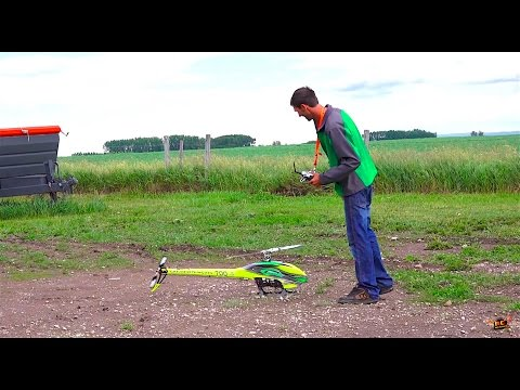 RC ADVENTURES - 12s Lipo - GOBLiN 700 Competition 3D Helicopter - Inspection and Flight - UCxcjVHL-2o3D6Q9esu05a1Q