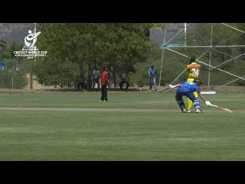 ICC U19 Cricket World Cup Africa Qualifier: Namibia v Uganda highlights