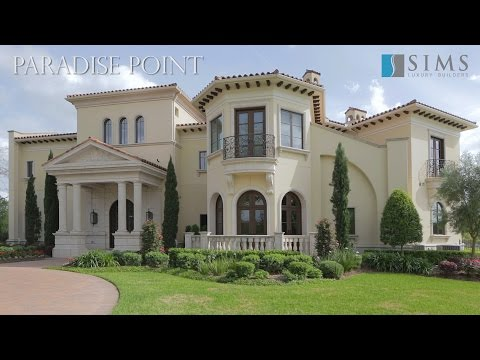 Sims Luxury Builders   Paradise Point   Sugar Land, Texas