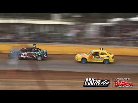 Junior Sedans Top Stars: A-Main - Ellenbrook Speedway - 27.09.2020 - dirt track racing video image