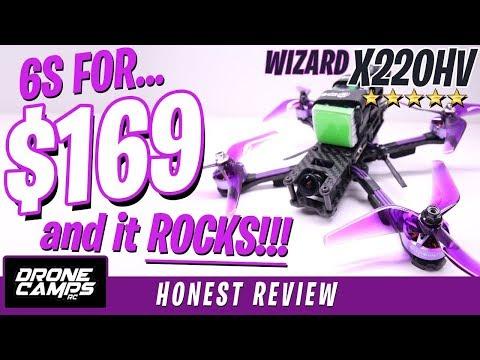 $169 for 6S and it ROCKS! - Eachine Wizard X220HV - Honest Review & Flights - UCwojJxGQ0SNeVV09mKlnonA