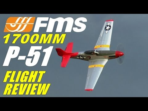 FMS / Diamond Hobby P-51 MUSTANG RED TAIL 1700mm FULL Flight Review - UCdnuf9CA6I-2wAcC90xODrQ
