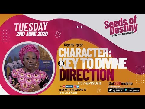 Dr Becky Paul-Enenche - SEEDS OF DESTINY  TUESDAY JUNE 2, 2020