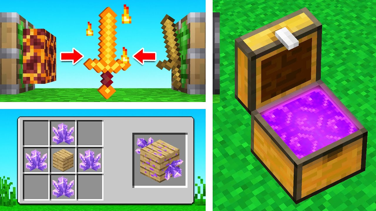 5 Hacks you Didn't Know existed in Minecraft!