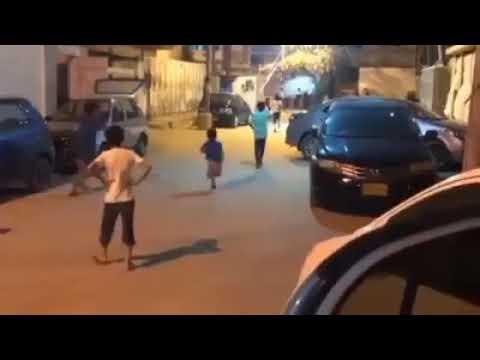 Sarfaraz Ahmed's Son Abdullah Sarfaraz Playing Street Cricket
