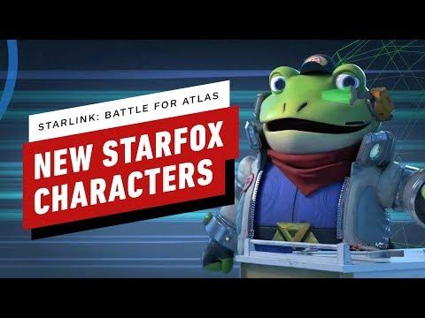 Starlink Battle for Atlas: Star Fox Characters Trailer - Nintendo Direct - UCKy1dAqELo0zrOtPkf0eTMw