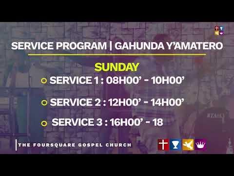FOUIRSQUARE TV  SUNDAY SERVICE WITH Bishop Dr. Fidle MASENGO - 14.02.2021