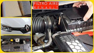 Cambio filtro aria Renault SCENIC 4