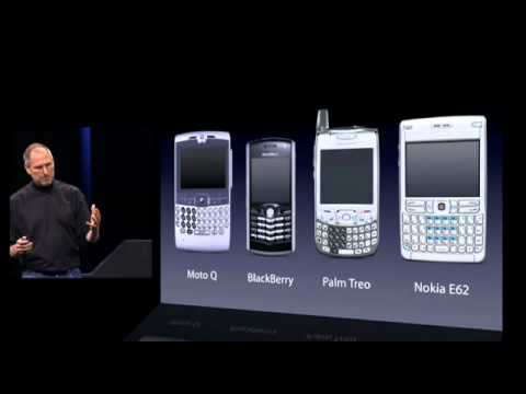 Steve Jobs introduces iPhone in 2007 - UC-L8sbkj8DxzCbK80MEySXQ