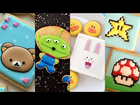 CUTE CHARACTER COOKIES! Cookie Decorating Video Compilation by SweetAmbs - UC3I0VtPUgUkhLpggtt7iIpw