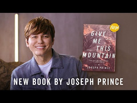 New Book By Joseph Prince: Give Me This Mountain  Official Trailer #1
