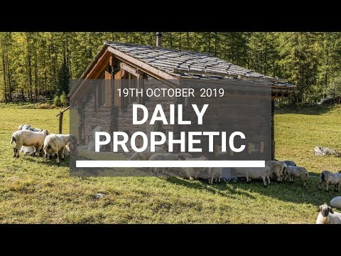 Daily Prophetic 19 October Word 8