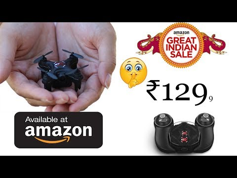 world's smallest drone with camera best drones 2018 - UCyDqGAlKKdo2VfmK7N-OW1w