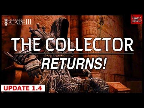 Infinity Blade 3: THE COLLECTOR RETURNS! (Update 1.4) - default