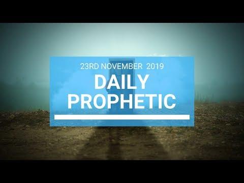 Daily Prophetic 23 November Word 1