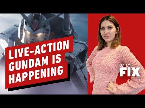 Gundam Movie Finds Writer...Wait Gundam Movie?! - IGN Daily Fix - UCKy1dAqELo0zrOtPkf0eTMw