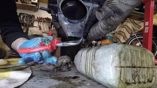 Cambio olio e filtro su Ducati 999