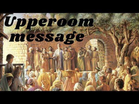 Upper Room Message