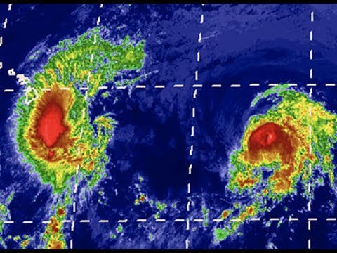 Breaking Hurricane Erick, & Hurricane Flossie Head Toward Hawaii