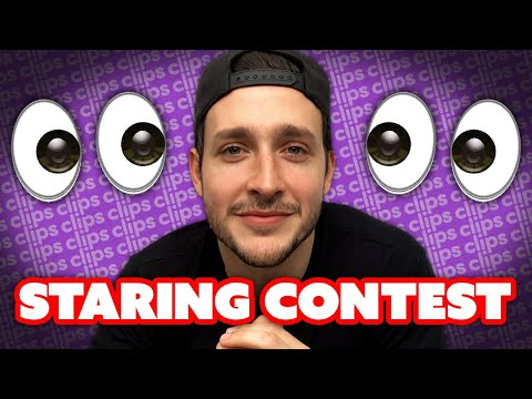 LOOK INTO MY EYES: Dr. Mike & Philip DeFranco Hilarious Staring Contest