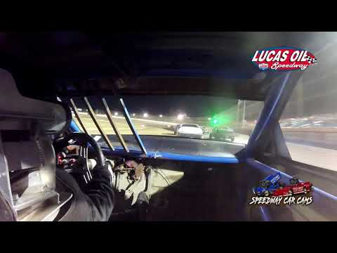 #00 Nick Bradshaw - USRA Tuner - 10-9-2021 Lucas Oil Speedway - In Car Camera - dirt track racing video image