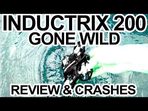 INDUCTRIX 200 - GONE WILD - Review, Fpv & Epic Crashes - UCwojJxGQ0SNeVV09mKlnonA