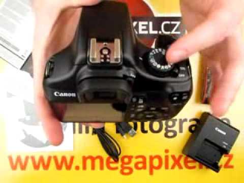Videorecenze Canon EOS 1100D tělo