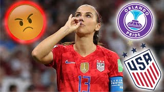 Alex Morgan ● Angriest Moments ● USWNT and Orlando Pride