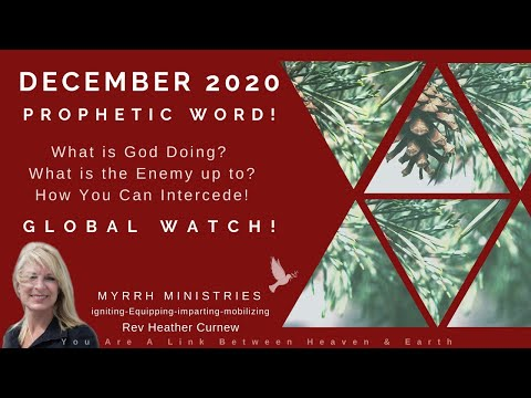 DECEMBER  PROPHETIC WORD/ STEP INTO HIS GRACE