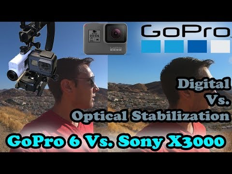 GoPro Hero 6 Stabilization Vs Sony FDR-X3000-Optical Vs. Digital! Surprising Results - UCDW_NEvr-LBA4DeP9nx1qOQ