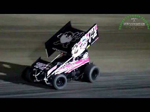 Desert Thunder Raceway 360 Sprint Car/Late Model Main Event 6/26/21 - dirt track racing video image