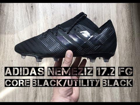 32860b7fca67 Adidas Nemeziz 17.2 FG  Core Black Utility Black