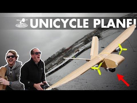 Unicycle Landing Gear Plane! - UC9zTuyWffK9ckEz1216noAw