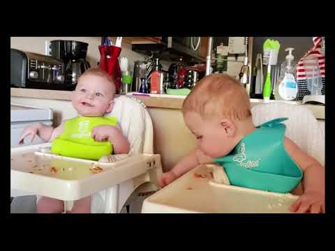 Twins Baby Awesome   Cutest Twins Baby Playing Together
