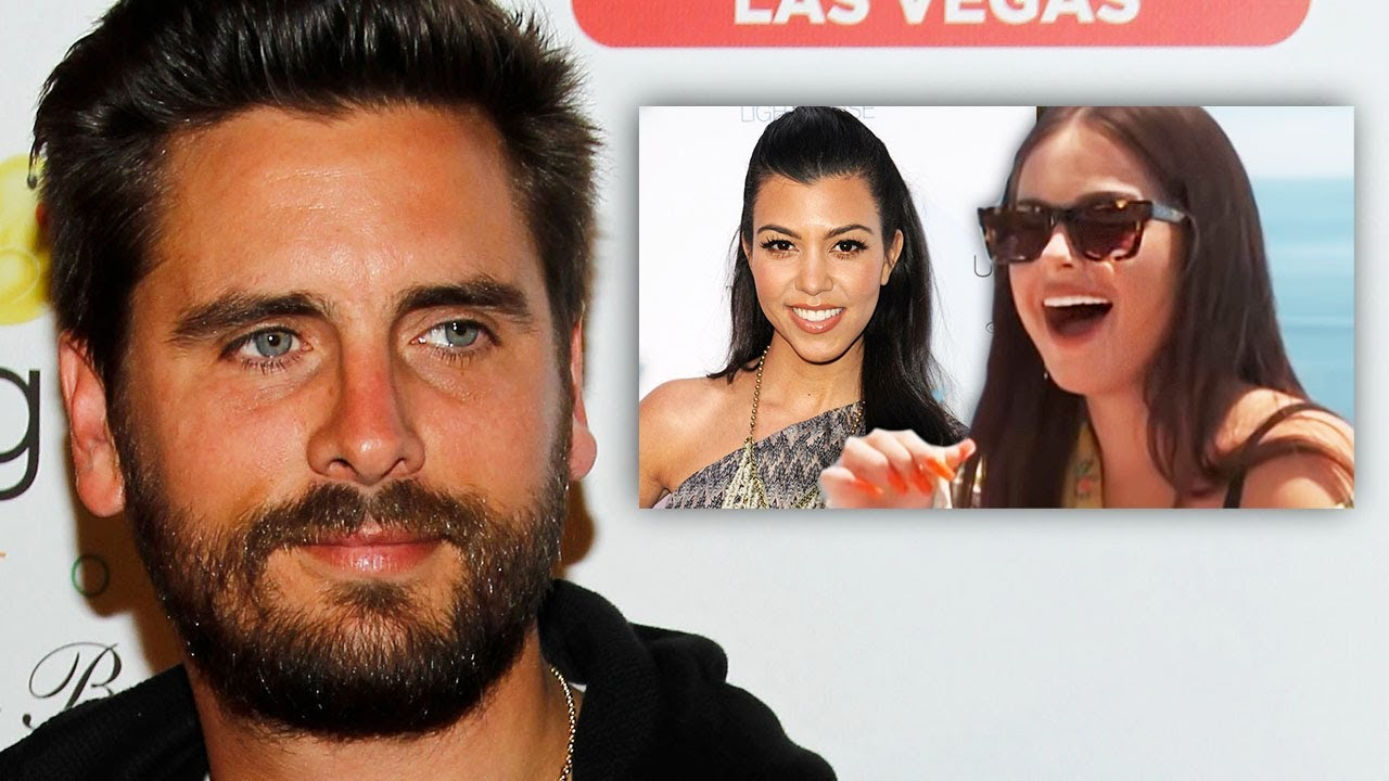 Scott Disick Reacts To Addison Rae & Kourtney Kardashian Dating Rumors