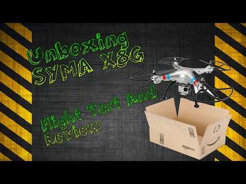 Unboxing Syma x8g - review and flight test - UCC7a8nzN40t0y6Eg0Cetkng