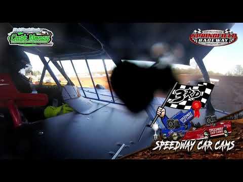 #67 Jimmy Vanzandt - Cash Money Late Model - 04-11-2021 Springfield Raceway - In Car Camera - dirt track racing video image
