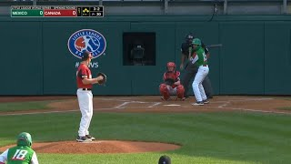 LLWS 2019 Opening Round | Mexico vs Canada | 2019 Little League World Series Highlights