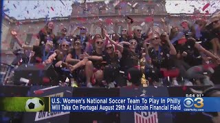 USWNT Game At Lincoln Financial Field Breaks Ticket Sales Record
