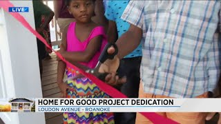 Ribbon cutting at Home for Good: The Apostles Build